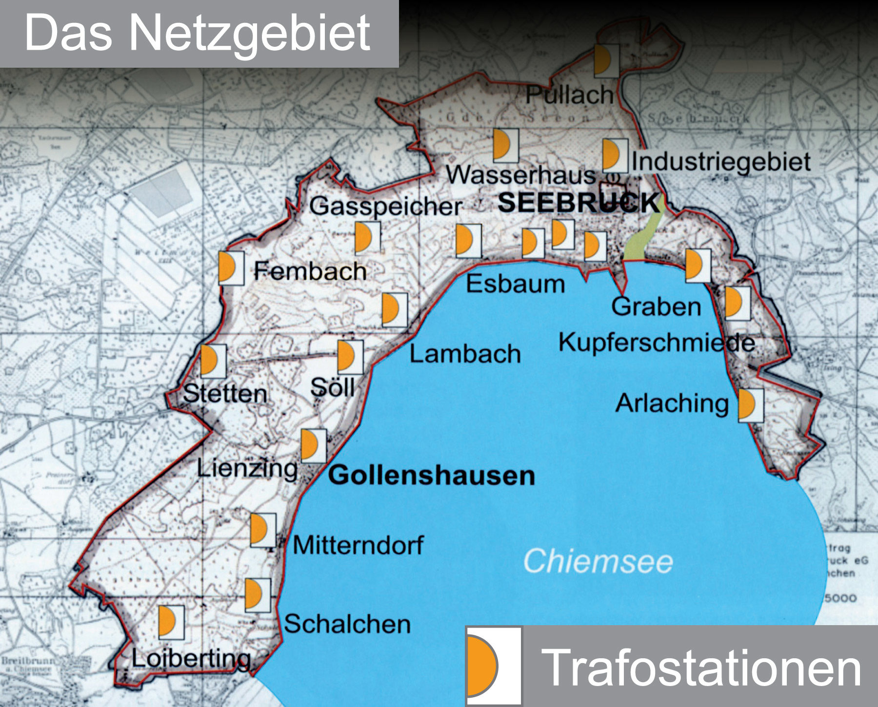 Netzgebiet Stromversorgung Seebruck eG